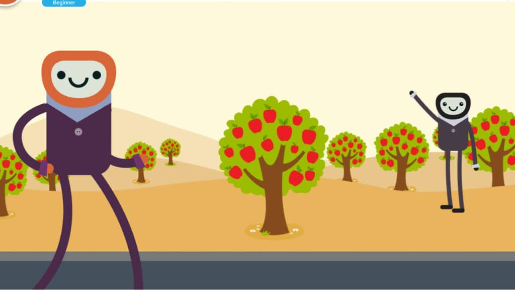 Background level 1: Apple fields