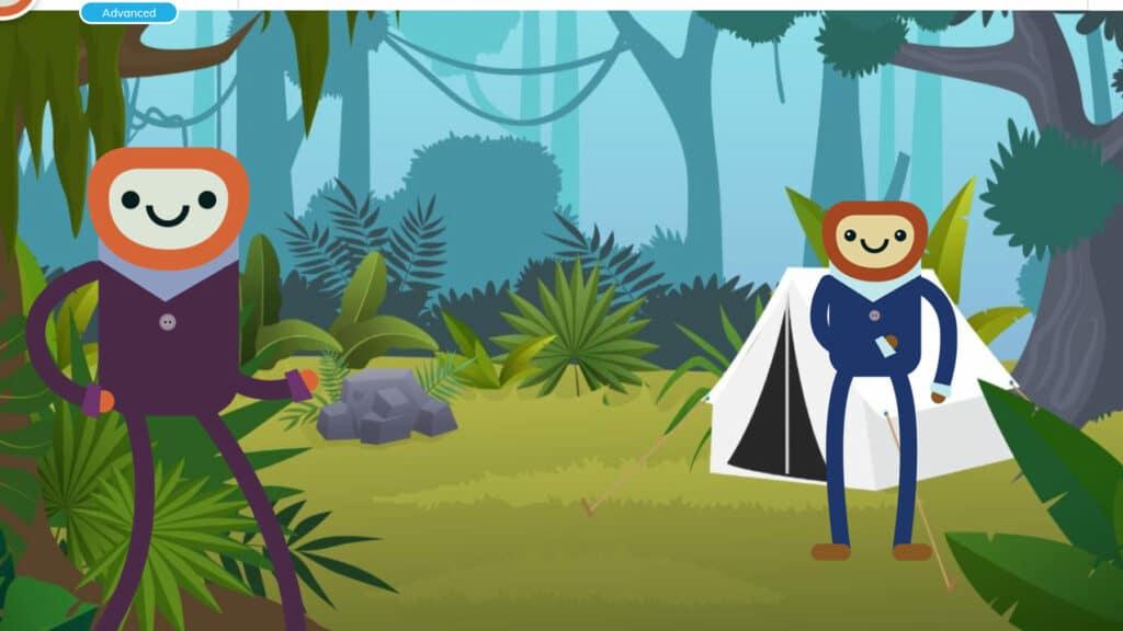 Background level 3: Communito rainforest